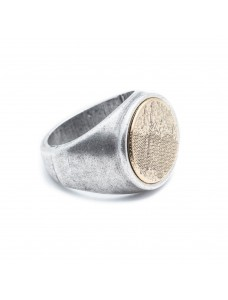 Opposite Ring Wall Silver-Gold