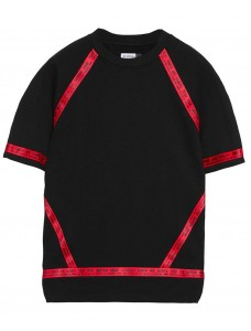 Division' T-Shirt Black-Red
