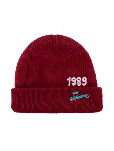 'Your Experience' Beanie Burgundy