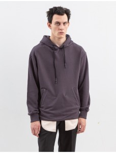 ZIQ & YONI Technical Hoodie Jeans Pocket Grey